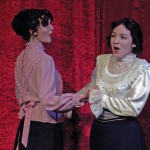 Leslie and Catherine Boutin in Canadian Kings of Repetoire