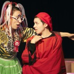 Leslie and Emily Opal Smith in Honest Aesop's Fables. Photo by Chris Nefs.